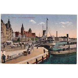 272 Stettin (Szczecin), Hafenbild, 1918
