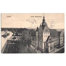 273. Stettin (Szczecin), Am Dampfschiffsbollwerk, 1911