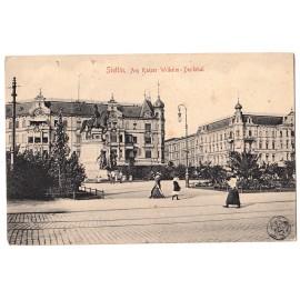 291. Stettin (Szczecin), Gruss aus Stettin Hafenansicht