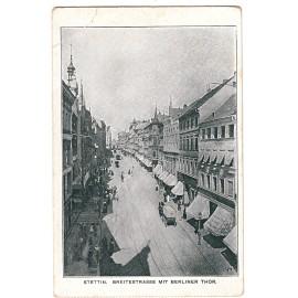 316.Stettin, Jakobi Pfarrhaus am Durchgang zur Breiten