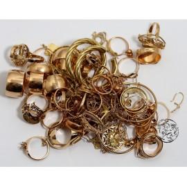 10 gram złota próby  585, złom złota