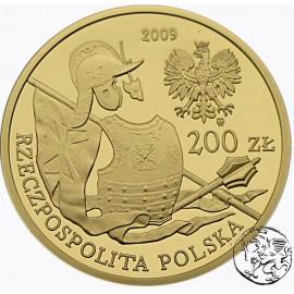 Polska, III RP, 200 złotych, 2009, Wrzesień 1939
