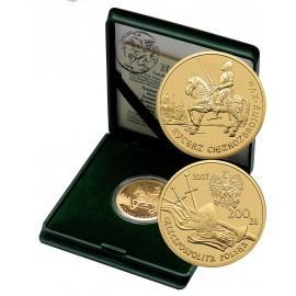 Polska, 200 złotych, 2007, Rycerz Ciężkozbrojny