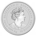 Australia, 30 dolarów, 2020, Kookaburra , 1 kg Ag 999
