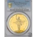 Iran, medal, SH 1346 (1967) , Reza Pahlavi - Koronacja, PCGS MS 63  uncja złota