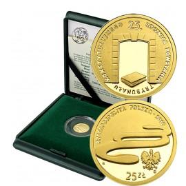III RP, 25 złotych, 2010, Trybunał Konstytucyjny