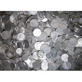 PRL, Monety Aluminiowe, 1 kilogram MIX