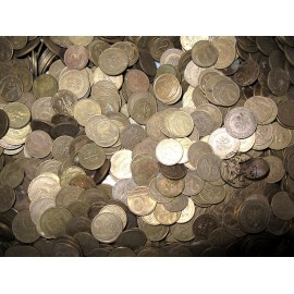PRL, Monety Mosiężne, 1 kilogram MIX