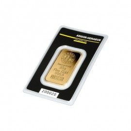 ARGOR-HERAEUS Sztabka złota 10 g