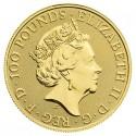 Wielka Brytania, 100 funtów, rok szczura, 2020, uncja