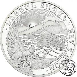 Armenia, 500 dram, Arka Noego 2020, uncja srebra