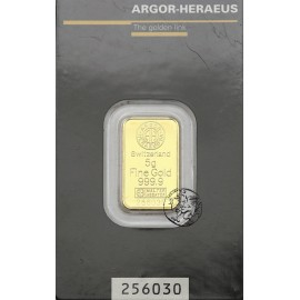 Niemcy, Heraeus, Sztabka złota 10 g