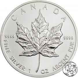 Kanada, uncja srebra