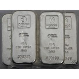 Fiji, 10 dolarów, 2015, sztabka srebra, 1000 gram Ag 999