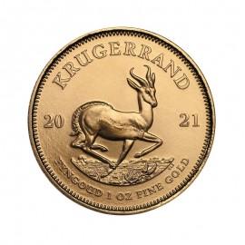 RPA, krugerrand, uncja złota, 2021
