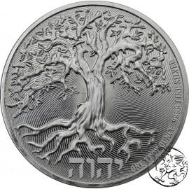 Niue, 2020, Drzewo Życia, uncja srebra