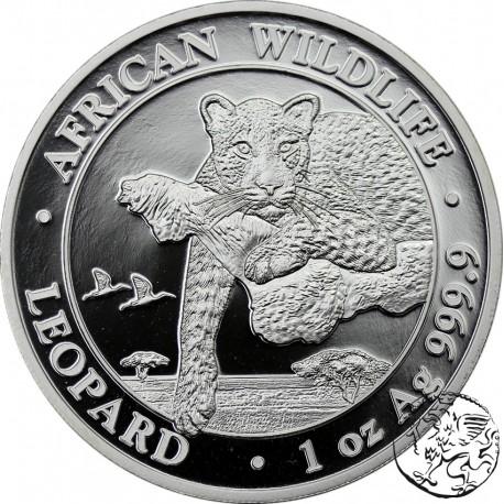Somalia, 2020, Leopard, uncja srebra