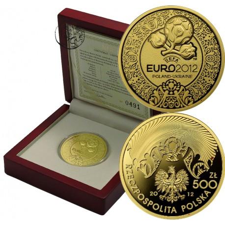 III RP, 500 złotych, 2012, Euro, UEFA