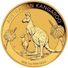 Australia, 100 dolarów,  Kangur, uncja złota