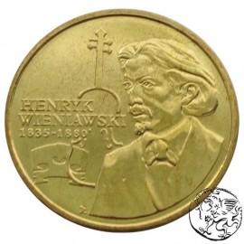 III RP, 2 złote, 2001, Henryk Wieniawski