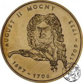 III RP, 2 złote, 2002, August II Mocny