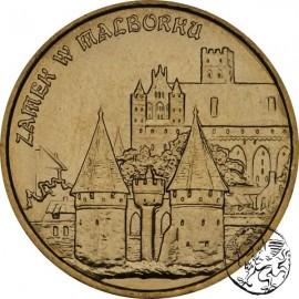 III RP, 2 złote, 2002, Zamek w Malborku
