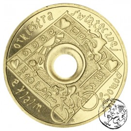 III RP, 2 złote, 2003, Wielka Orkiestra Świątecznej Pomocy