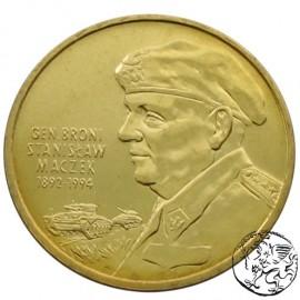 III RP, 2 złote, 2003, Generał Stanisław Maczek