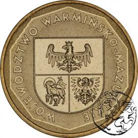 III RP, 2 złote, 2005, Woj. Warmińsko-Mazurskie