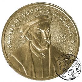 III RP, 2 złote, 2005, Mikołaj Rej