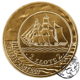 III RP, 2 złote, 2005, Dzieje Złotego Żaglowiec