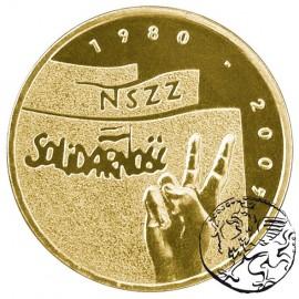 III RP, 2 złote, 2005, 25 lat Solidarności