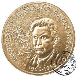 III RP, 2 złote, 2005, Konstanty Gałczyński