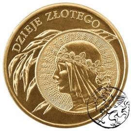 III RP, 2 złote, 2006, Dzieje złotego żniwiarka