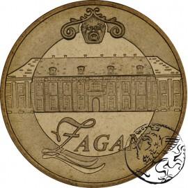 III RP, 2 złote, 2006, Żagań