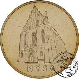 III RP, 2 złote, 2006, Nysa