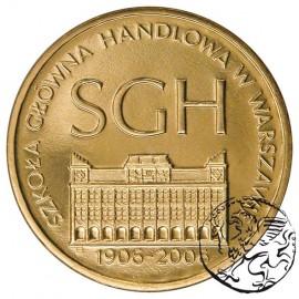 III RP, 2 złote, 2006, Szkoła Główna Handlowa
