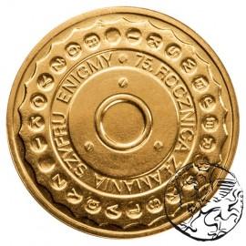 III RP, 2 złote, 2007, Enigma