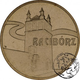 III RP, 2 złote, 2007, Racibórz