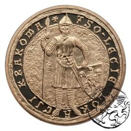 III RP, 2 złote, 2007, Lokacja Krakowa