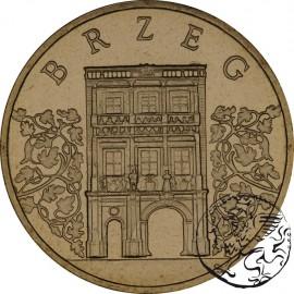 III RP, 2 złote, 2007, Brzeg