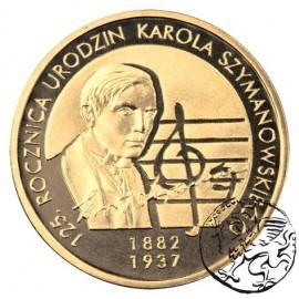 III RP, 2 złote, 2007, Karol Szymanowski