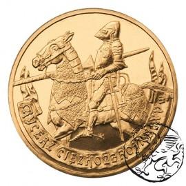 III RP, 2 złote, 2007, Rycerz ciężkozbrojny