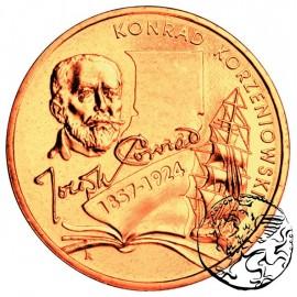 III RP, 2 złote, 2007, Konrad Korzeniowski