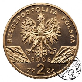 III RP, 2 złote, 2008, Sokół Wędrowny