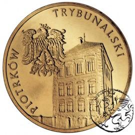 III RP, 2 złote, 2008, Piotrków Trybunalski