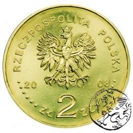 III RP, 2 złote, 2008, Bronisław Piłsudski