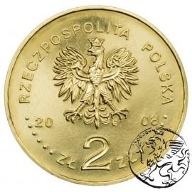 III RP, 2 złote, 2008, Osadnictwo w Ameryce Płn.