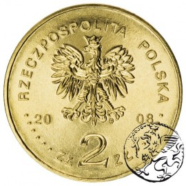 III RP, 2 złote, 2008, Powstanie Wielkopolskie