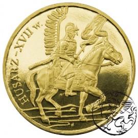 III RP, 2 złote, 2009, Husarz - XVII wiek